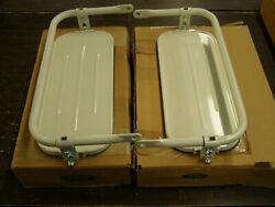 Nos Oem Ford Large Truck Mirrors 1969 1970 1971 1972 1973 1974 1975 1976 1977 +