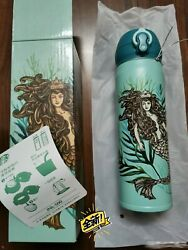 Starbucks Thermos 2018 Mermaid Stainless Steel Thermal Flask 16oz China