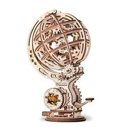 Creative Learning Diy Miniature Globe Kit 3d Wooden Puzzle Mechanical Model