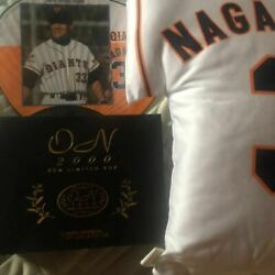 King Shigeo Nagashima Super Sold Out 2000 Limited On Box And Autograph Card