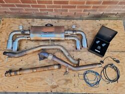 Audi Tts 8j Scorpion Downpipe/decat And Armytrix Valvetronic Exhaust System