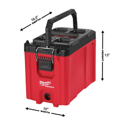 Milwaukee Compact Tool Box Small Parts Storage Tray Impact Resistant 10 In. New