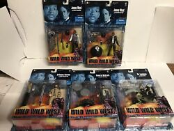 Wild Wild West Action Figures Set Of 5 Will Smith New