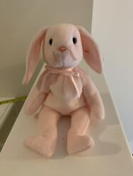 Hoppity Ty Beanie Baby, Tag With Errors. Clean And Odorless Has Many Errors Rare