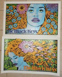 The Black Keys Posters San Francisco Chase Los Angeles Forum 2019 Chuck Sperry