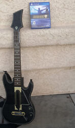 Ps4 Playstation 4 Guitar Hero Live - Includes Strap But No Dongle.