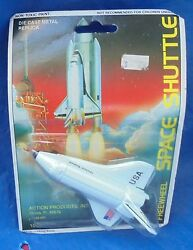 Freewheel Usa Space Shuttle Moc Mip Die Cast Metal Action Products Intl 1980's