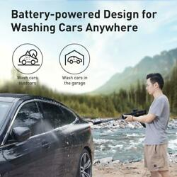 Electric Car Washer Gun High Pressure Cleaner Foam Nozzle For Auto Cleaning Base