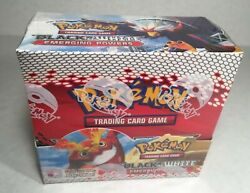 Pokemon Tcg Black And White Emerging Powers Factory Sealed Booster Box - 36 Packs