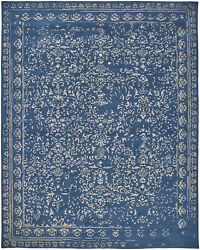 Feizy Bella Collection Area Rug Blue/silver 8' X 10'