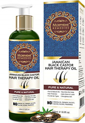 Morpheme Remedies Jamaican Black Castor Hair Therapy Oil - Supports Hair Growth