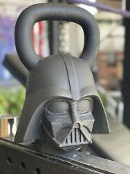 Discontinued Rare Darth Vader Kettlebell By Onnit 70 Pounds