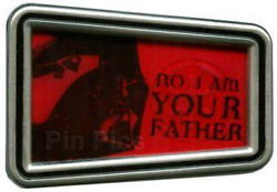 Disney Pin 85300 Sci-fi Star Wars Quotes Darth Vader Luke I Am Your Father Le