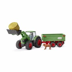 Schleich Farm World - Tractor With Trailer - 42379 - Authentic - New