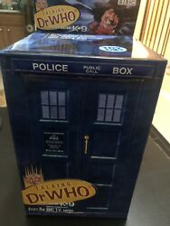 Talking 4th Doctor Who Tom Baker Figure With Tardis Box Jelly Babies And More