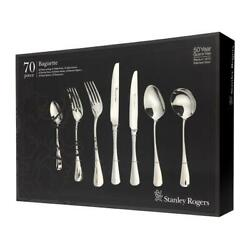 Stanley Rogers 70pc Baguette Stainless Steel Cutlery 70 Piece 50567