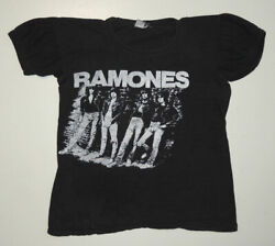 Rare Vintage 70s Ramones Concert T Shirt Small 1978 Punk Rock And Roll