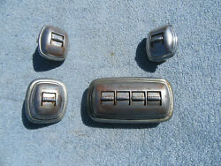 Vintage Power Window Switches 1940's And 1950's Gm Untested Used