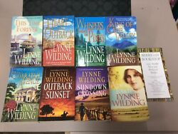 8 X Lynne Wilding Pb Forever/sundown/outback/cane Valley/waratah/pines/heart/amy