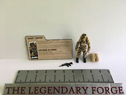 Gi Joe Dusty Vintage Action Figure 99 Complete 1985 Excellent Must See