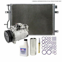 For Ford Contour And Mercury Cougar A/c Kit W/ Ac Compressor Condenser And Drier