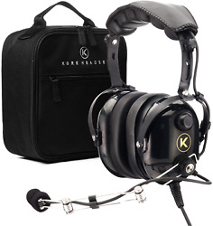 Kore Aviation P1 Pnr Mono Pilot Aviation Headset With Mp3 Support Bundle With 2