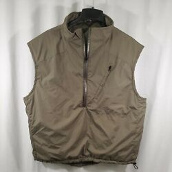 Orc Industries Pcu Level 7 L7a Military Insulative Vest Size X-large Green