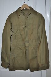 Antique Wwii Us Army Mountain Jacket Size 36r Sept 1942 Stock 55-j-544-65 Rare