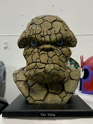 The Thing Head Life Size Bust Dynamic Forces Marvel