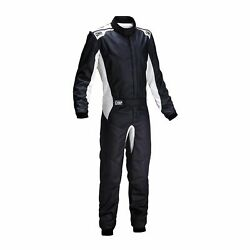 Omp Italy One S My20 Racing Suit Black Fia Homologation Size 58