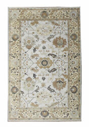 12x18 Oushak Area Rug Hand-knotted Wool Oriental Carpet 12'1 X 17'11