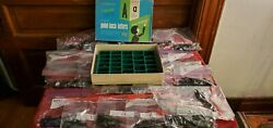 Vtg Numbers And Letters 1 And 2 For Sign Board Plastic Pop In.. Box And Bags A-z