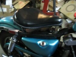 Vintage Corbin-gentry Police-style Solo Springer Seat From 1984 Sportster 82-03