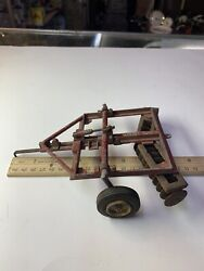 1/20 Vintage Reuhl Massey Harris Disk Ruehl Toys Parts And Repairs Only