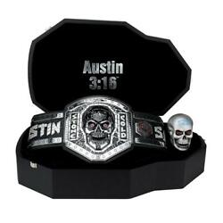 Official Wwe Authentic Stone Cold Steve Austin Legacy Championship Collectorand039s