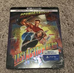 Last Action Hero 4k Uhd + Bd + Digital Limited Edition Steel Book Sold Out