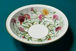Spode Copeland Daniell Wigmores England Hand Painted Huge Bowl 16.5 China