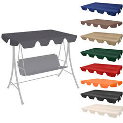 Replacement Canopy Top Hammock Cover For Garden Patio Outdoor Seater Swing Chair