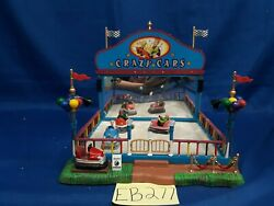 Lemax Village Collection Crazy Cars 64488 As-is Eb277