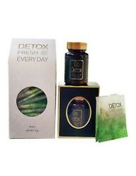 Go Detox And Fresh Everyday Tea Natural Ingredients - Usa Seller.