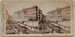 Germany Berlin Palace Of Emperor Photo Stereo Vintage Albumin 1894