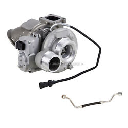 For Dodge Ram 6.7l 2013-2015 Turbo W/ Turbocharger Actuator And Oil Feed Line