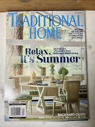 NEW Traditional Home For Modern Living Magazine relax its summer 2021