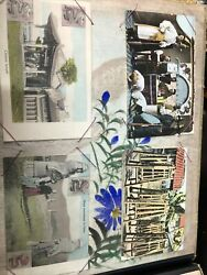 Chinese Japanese Photo Postcard Album 1904 Picture Postcard Lot Of 70 Cards