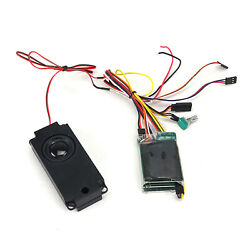 For 1/14 Tamiya Rc Car Truck Mud Tractor Sound Group System Engine Accessories
