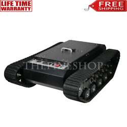 Tr500 Tank Chassis Robot Car Chassis Rubber Track All-terrain Chassis 2021