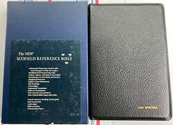 1967 New Scofield Reference Bible Kjv With Box Oxford 09173x