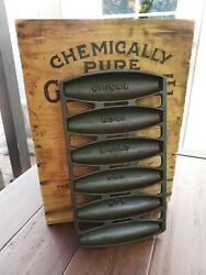 Griswold Cast Iron Vienna Roll Bread Pan No. 6 Restored
