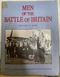 Rare Book Andldquothe Men Of The Battle Of Britainandrdquo Signed By 17 Bob Pilots And Aces