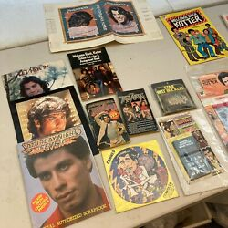 Huge Lot Of Vintage 1970's Welcome Back Kotter Items With Toys, Programs